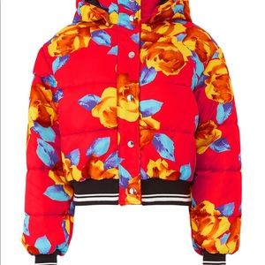 mgsm Jackets & Coats - 🎊🎊MGSM floral puffer jacket🎉🎉